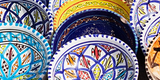 Colourful Arabic ceramic bowls